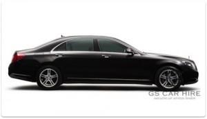 Mercedes-Benz S Class Limousine Saloon Transfer Services
