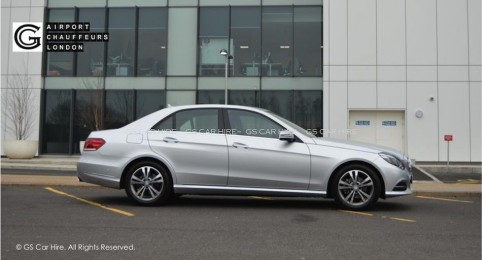 Mercedes-Benz E Class Sedan Car Exterior View