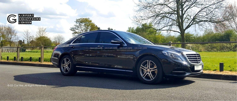 Mercedes s class chauffeur hire first class cars london for London mercedes benz
