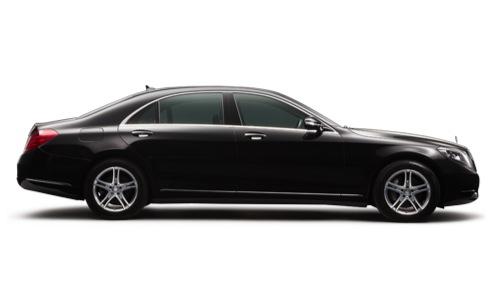 Mercedes S Class Limousine Saloon Black