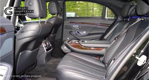 Mercedes-Benz S Class Limousine Saloon Interior View