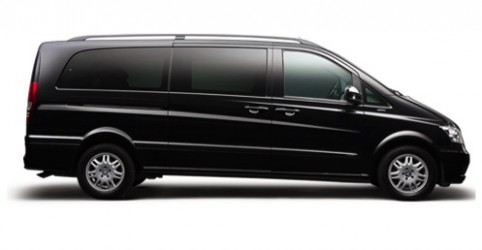 Mercedes-Benz Viano MPV People Carrier Chauffeurs London