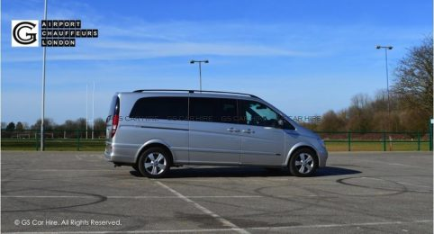 Mercedes-Benz Viano MPV People Carrier Exterior View