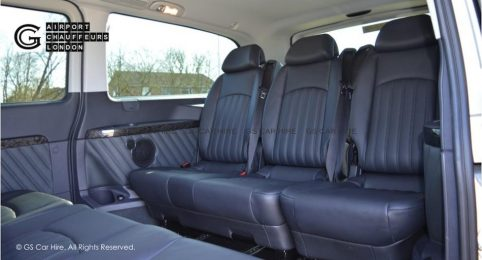Mercedes-Benz Viano MPV People Carrier Interior View